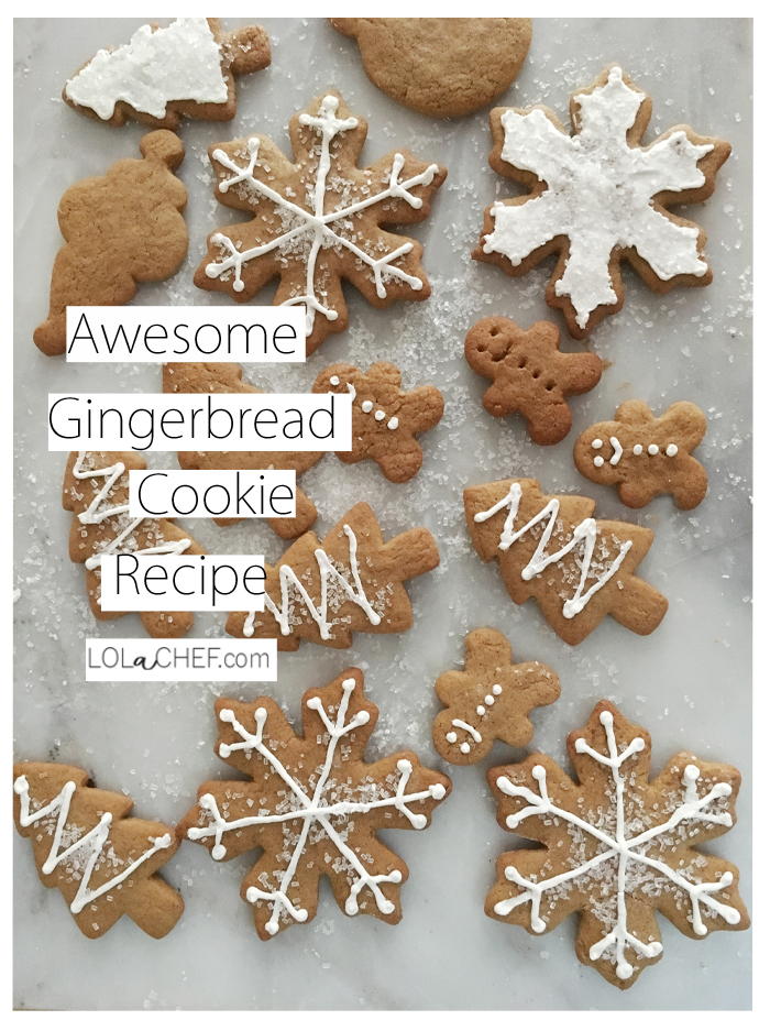 Simple gingerbread cookie recipe perfect for holiday baking.