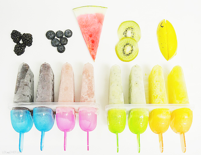 A homemade popsicle recipe using fresh fruit.